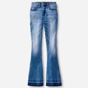 Mossimo High Rise Flare Denim Jean Size 6L